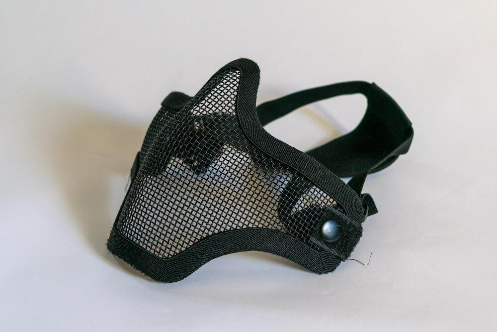 ハーフメッシュマスク形のフェイスガード