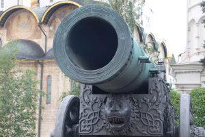 ロシア軍の大砲