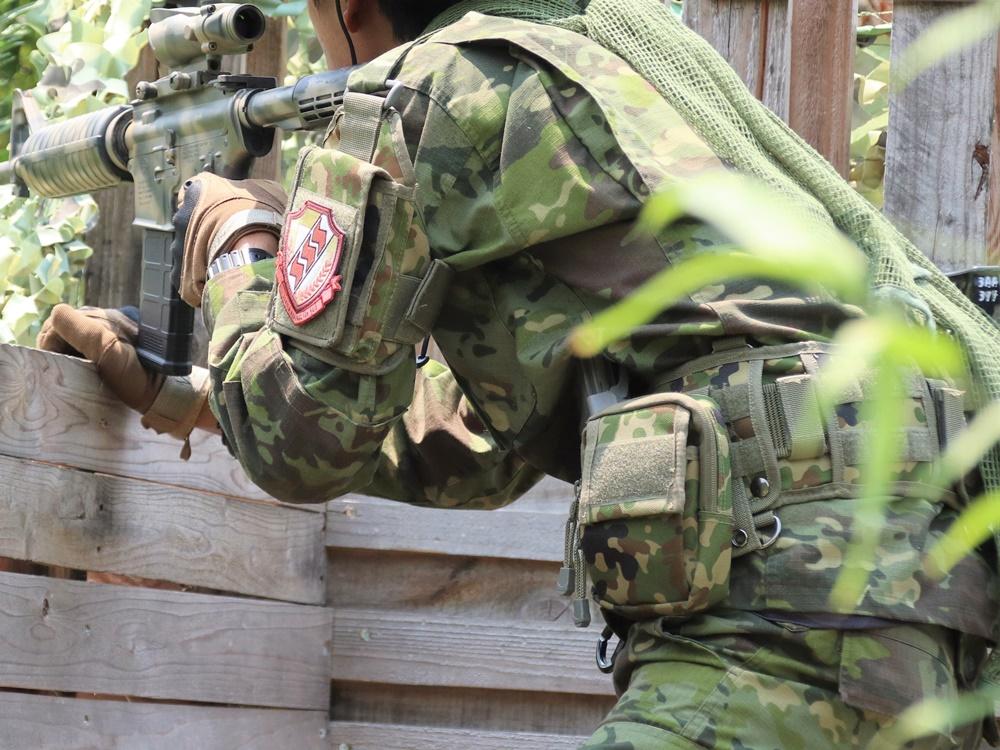 サバゲー用のBDU(戦闘服)の画像