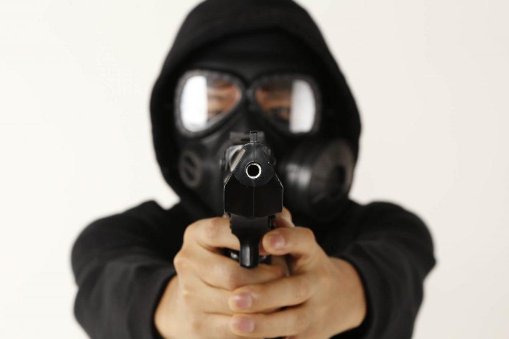 サバゲーでガスマスクを使用するメリット