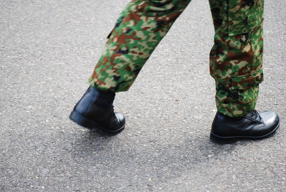 自衛隊の迷彩服の種類を解説